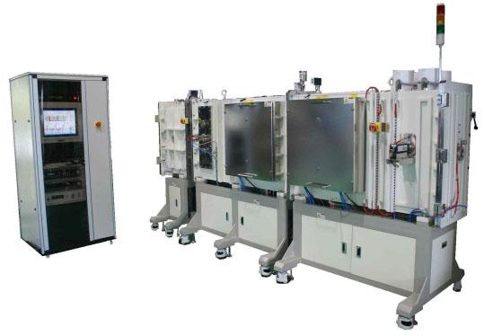 Напылительные Inline-системы (шлюзовые системы линейной структуры), производство РОБВАК, Россия-Корея